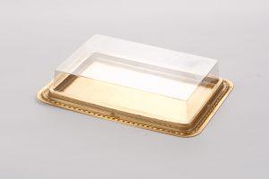 Ref. 311/17 Pet A goud 300 my Letterbox Buitenmaat: 216x156x40mm
